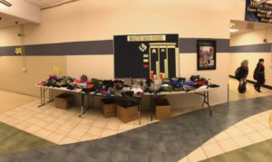 picture of Martic's lost and found table