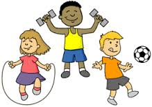 clipart picture of kids playing