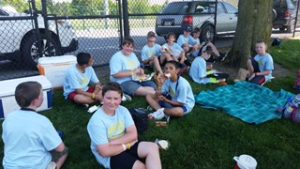 6th grade track and field picture