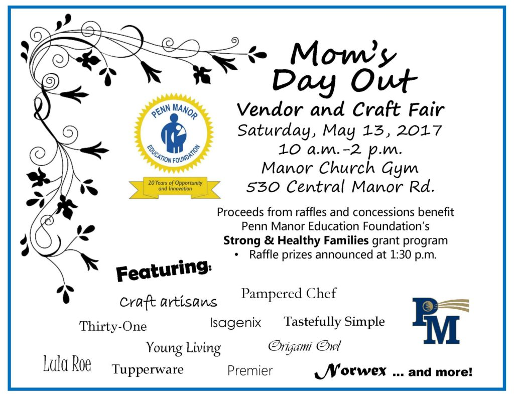 Mom's day out flyer