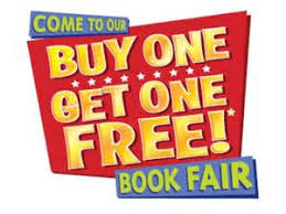 Picture of buy one get one free book fair