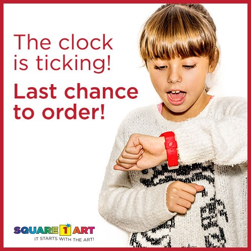 The clock is ticking! Last chance to order.